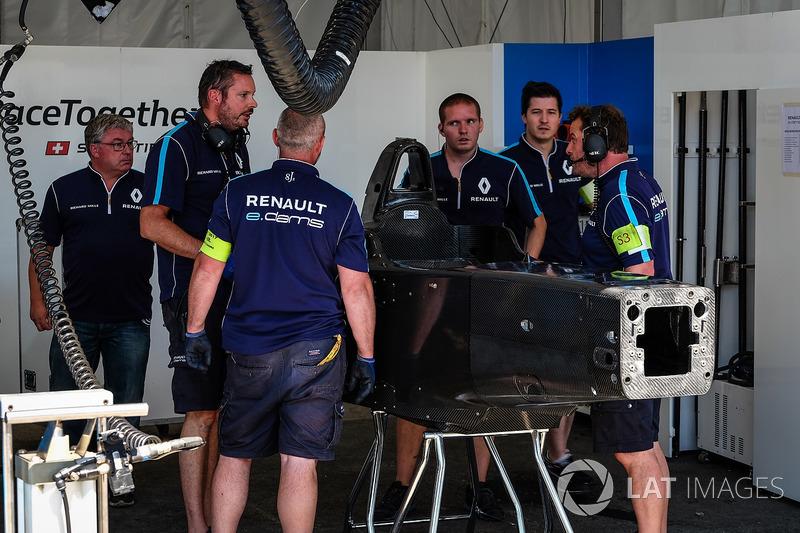 Renault e.Dams preparan el repuesto de Sébastien Buemi, Renault e.Dams