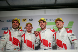 1. #29 Audi Sport Team Land-Motorsport, Audi R8 LMS: Christopher Mies, Connor De Phillippi, Markus Winkelhock, Kelvin van der Linde