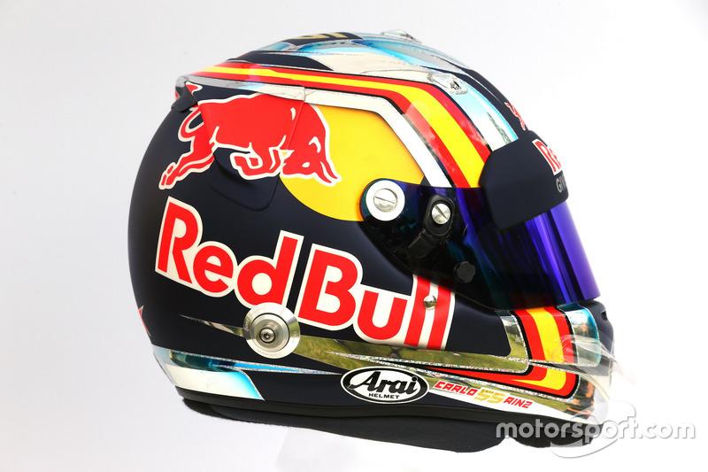 Casco de Carlos Sainz, Scuderia Toro Rosso