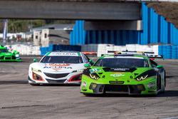 #11 GRT Grasser Racing Team, Lamborghini Huracan GT3: Christian Engelhart, Rolf Ineichen, Richard Antinucci