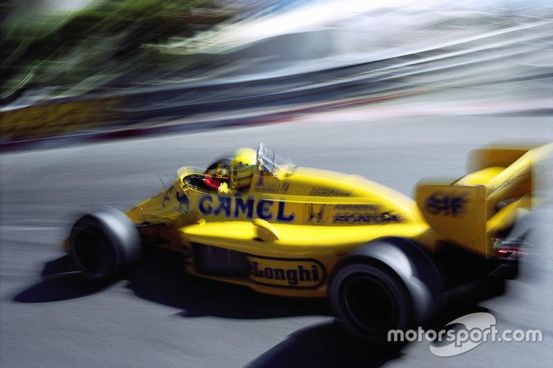 1987 - Ayrton Senna, Lotus-Honda
