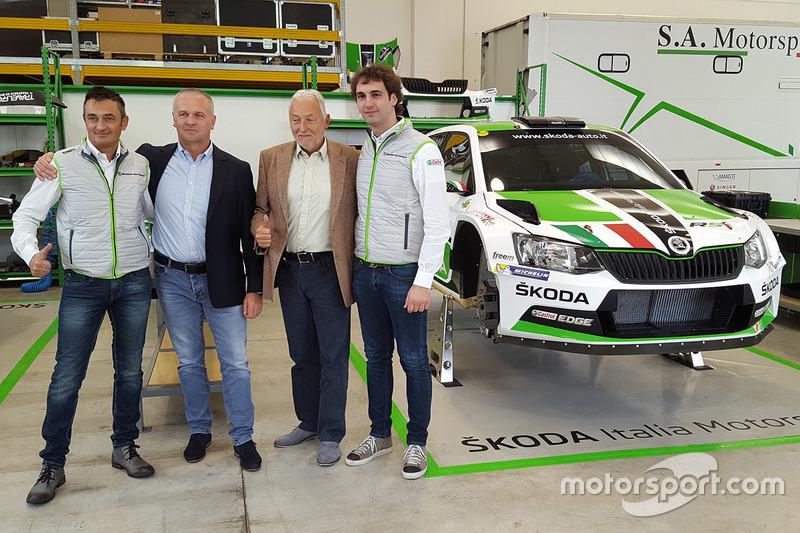 Umberto Scandola, Guido D'Amore, Michal Hrabánek e Pavel Hortek