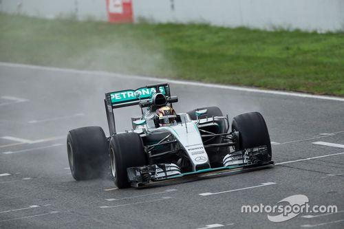 Test Mercedes-Pirelli di ottobre