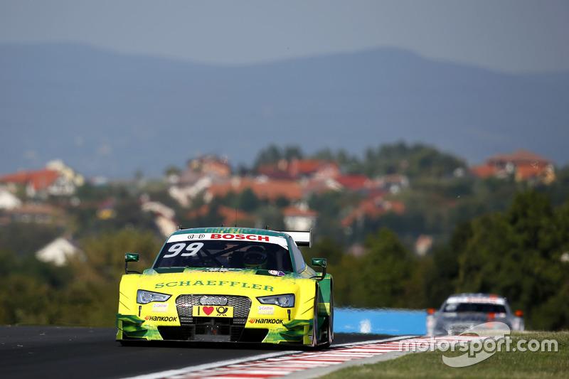 Doch auf dem Hungaroring ist Audi meilenweit voraus