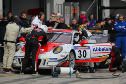 Klaus Abbelen, Patrick Huisman, Norbert Siedler, Sabine Schmitz, Frikadelli,Porsche 991 GT3R