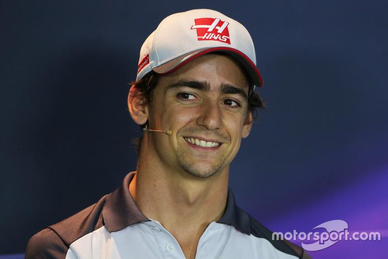 Esteban Gutierrez, Haas F1 Team in the FIA Press Conference
