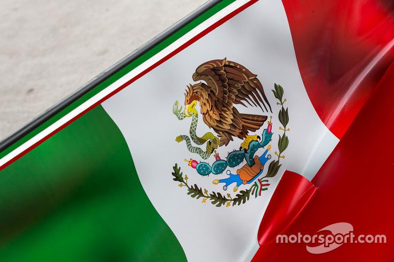 Bandiera messicana, dettaglio