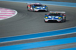 #66 Ford Chip Ganassi Racing Team UK, Ford GT: Billy Johnson, Stefan Mücke, Olivier Pla und #67 Ford
