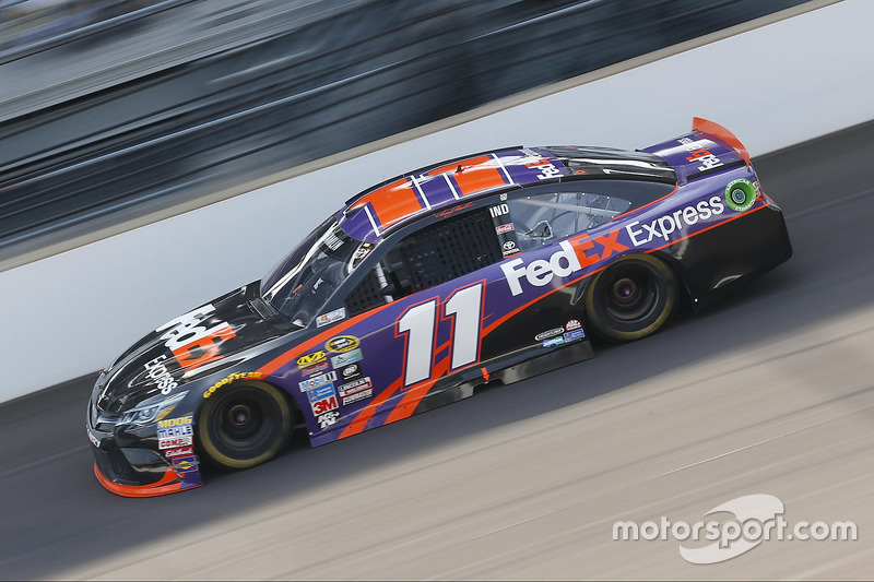 #12: Denny Hamlin (Gibbs-Toyota)