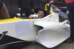 Matías Rossi en pruebas con F4 Sudamericana
