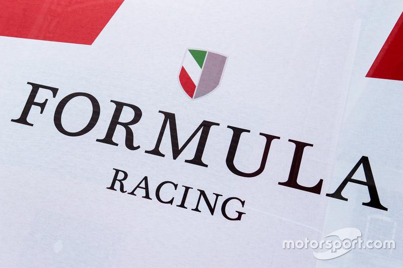 Зона та лого Formula Racing