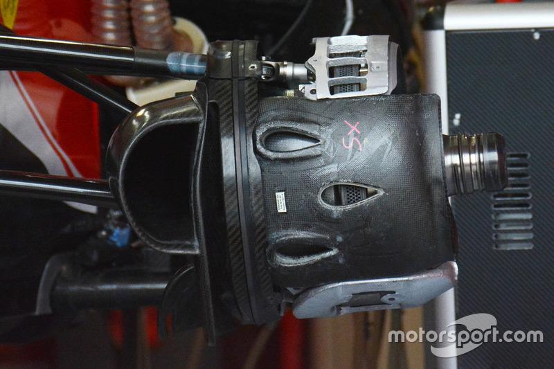Ferrari SF16-H, Bremse vorn