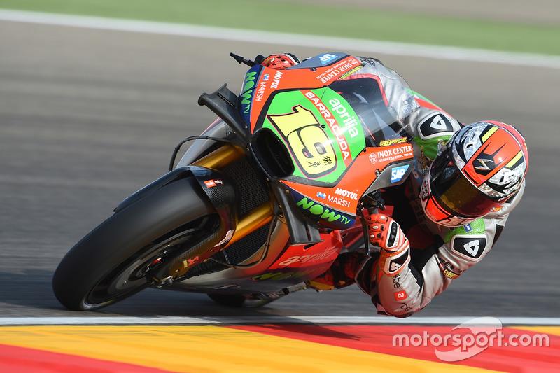 9. Alvaro Bautista, Aprilia Gresini Racing Team