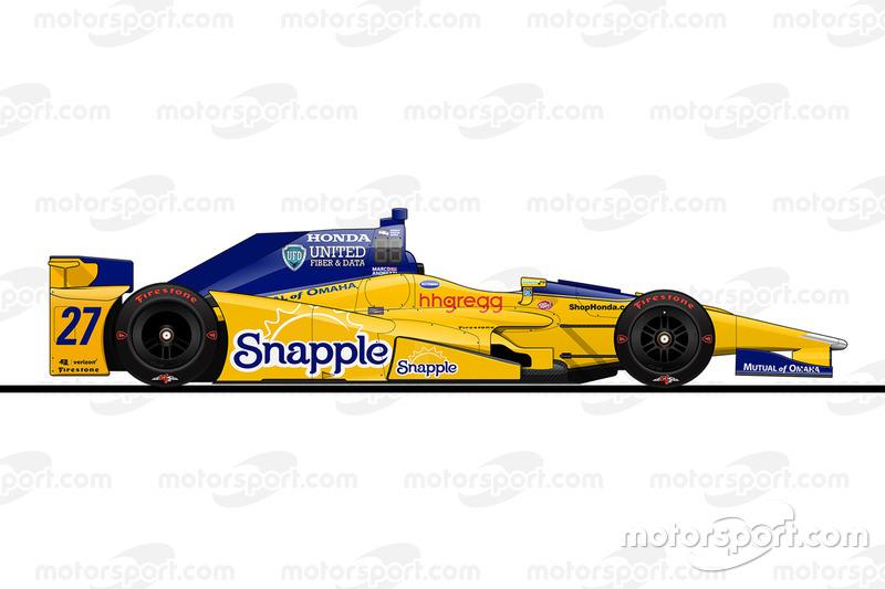 Startposition 14: Marco Andretti (Andretti-Honda)