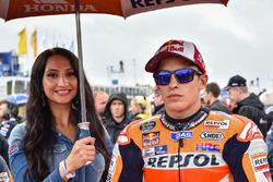 Gridgirl für Marc Marquez, Repsol Honda Team