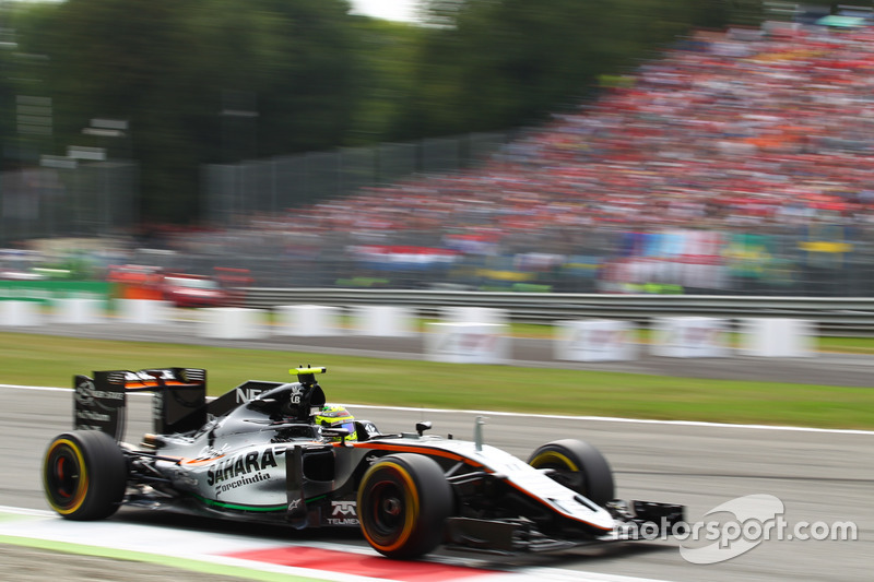 Sergio Pérez, Force India F1 VJM09