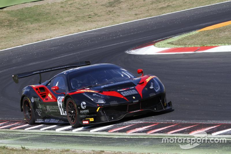 Ferrari 488-SGT3 #11, Easy Race, Geri-Schiro