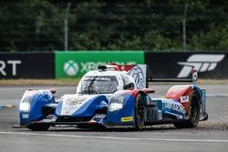 Off-track excursion for #27 SMP Racing BR01 Nissan: Nicolas Minassian, Maurizio Mediani, Mikhail Aleshin