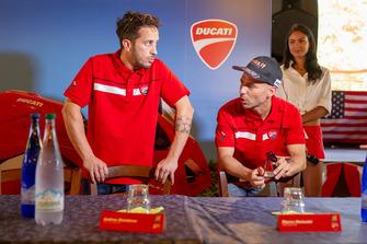 Andrea Dovizioso e Marco Melandri