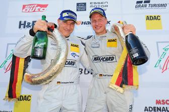 Podium: #588 Christopher Gerhard, Ralf Schall, Porsche 997 GT3 Cup