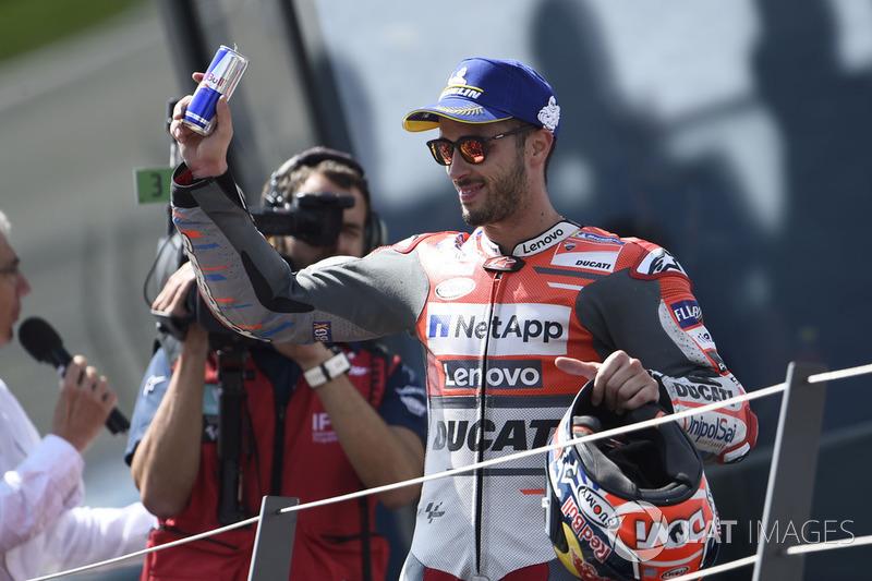 Tercer clasificado Andrea Dovizioso, Ducati Team