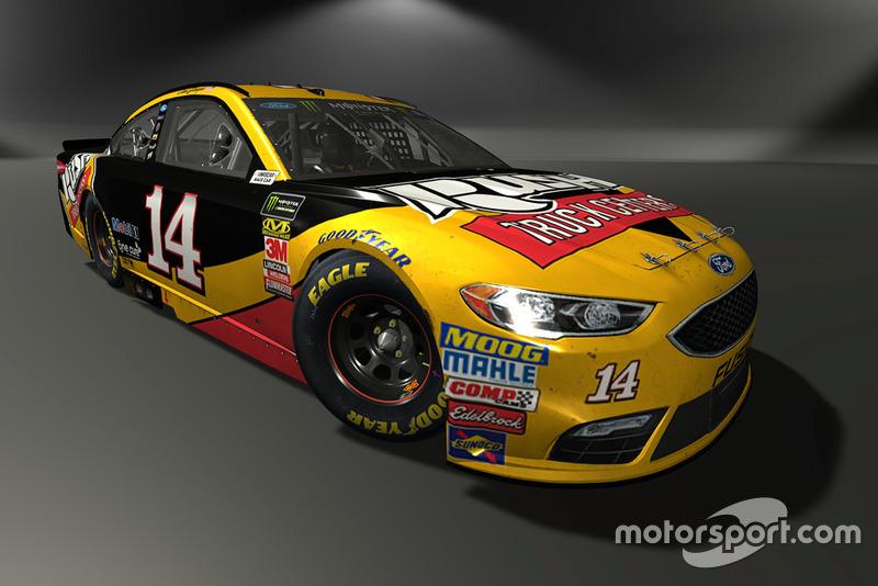 Clint Bowyer, Stewart-Haas Racing, Ford Fusion - NASCAR Heat 3 skin