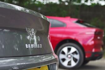Jaguar I-Pace takes on Bentley