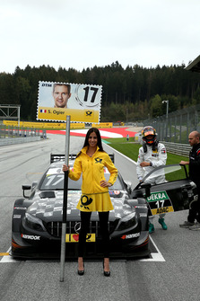 Grid girl of Sébastien Ogier, Mercedes-AMG Team HWA