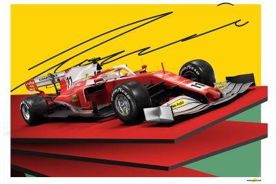 Niki Lauda tribute posters