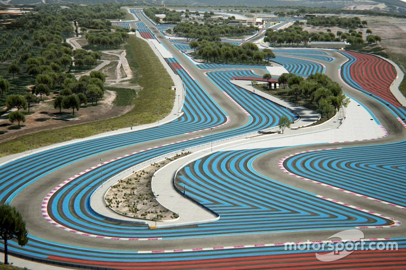 Track Layout, Circuit Paul Ricard, France
