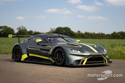 Aston Martin Vantage GT3 unveil