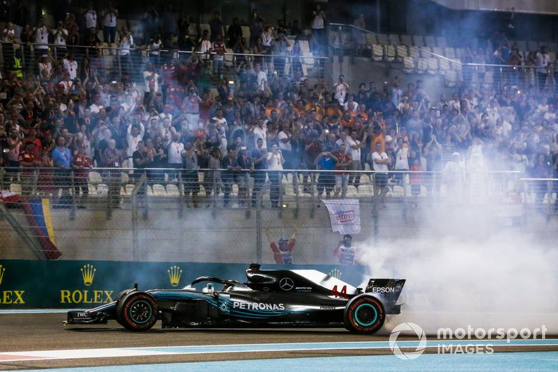 Lewis Hamilton, ganador GP de Abu Dhabi 2017