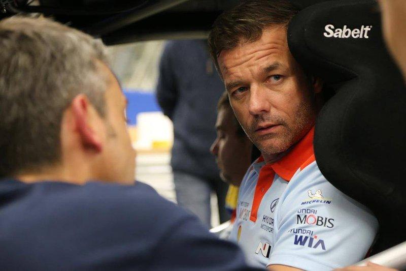 Sébastien Loeb, Hyundai Motorsport. visita la sede della Casa coreana ad Alzenau