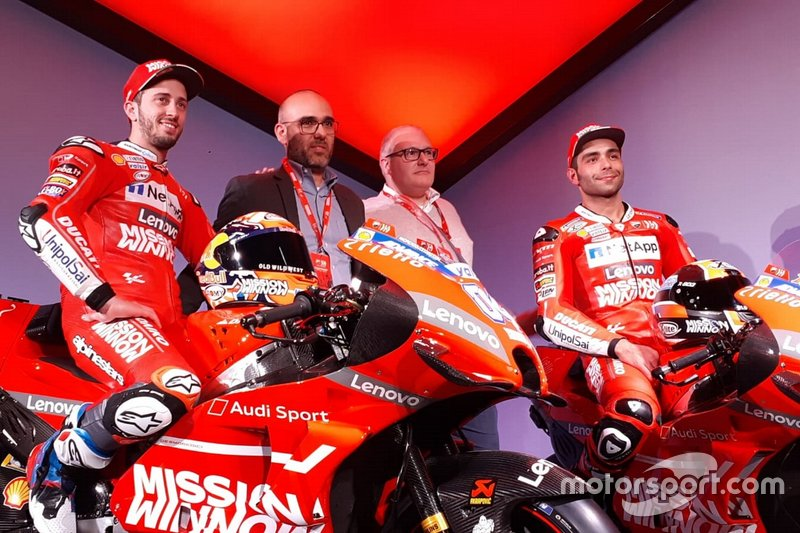 Андреа Довициозо и Данило Петруччи, Ducati Team