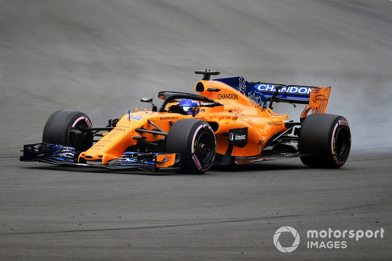 12: Fernando Alonso, McLaren MCL33, 1'16.871