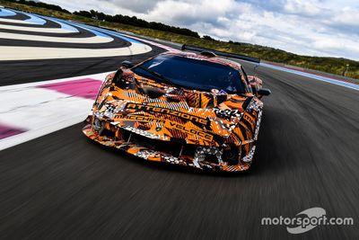 Lamborghini SCV12 testing