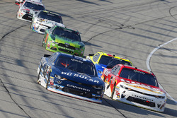 Michael Annett, JR Motorsports Chevrolet and Brennan Poole, Chip Ganassi Racing Chevrolet