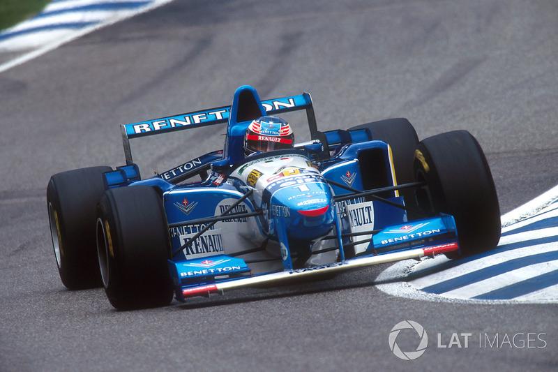 1995 – 1997: Benetton