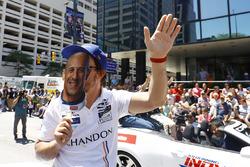 Fernando Alonso, Andretti Autosport Honda pretends to be Tony Kanaan