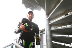 Podium: second place Tom Sykes, Kawasaki Racing