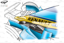 Renault R23 2003 exhausts