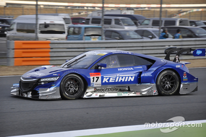 #17 KEIHIN NSX CONCEPT-GTに乗るダニ・ペドロサ
