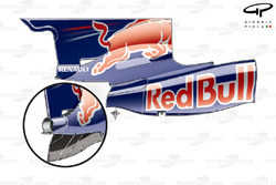 Red Bull RB5 2009 engine cover