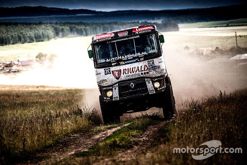 #315 Riwald Dakar Team Renault: Gerrit Huzink, Rob Buursen, Ed Wigman