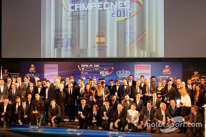 Gala Campeones RFEdA vista general