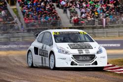 Тестовий Peugeot 206 WRX команди DA Racing