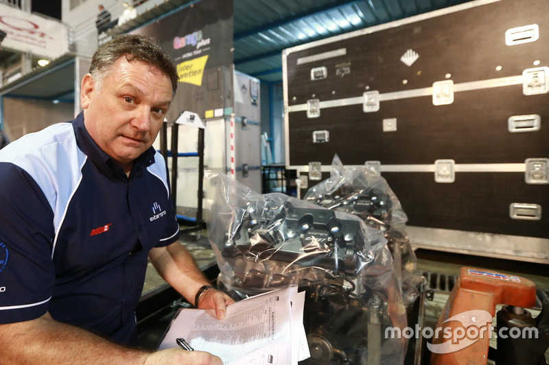 Trevor Morris, Extern Pro Moto 2 engines