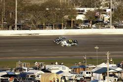 Crash: Blake Koch, Chevrolet; Brennan Poole, Chip Ganassi Racing Chevrolet