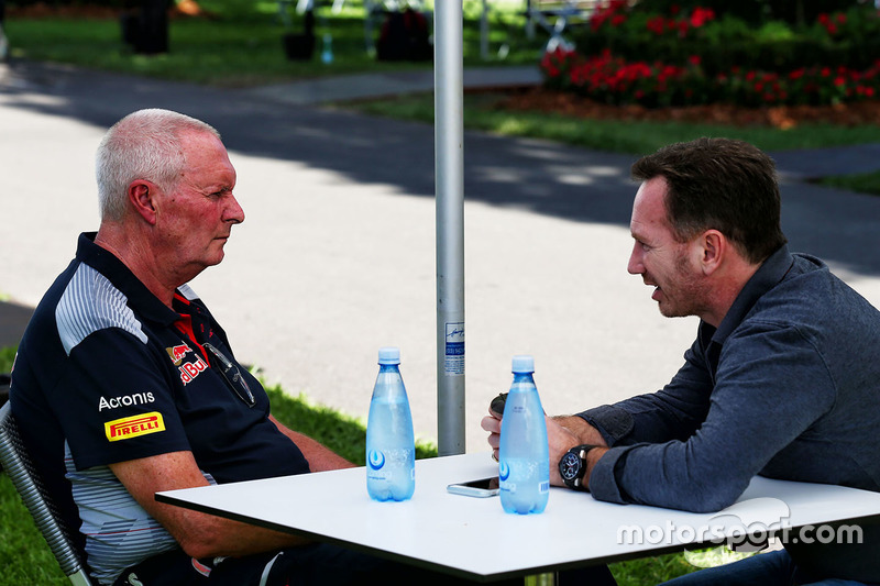 John Booth, Scuderia Toro Rosso con Christian Horner, Red Bull Racing