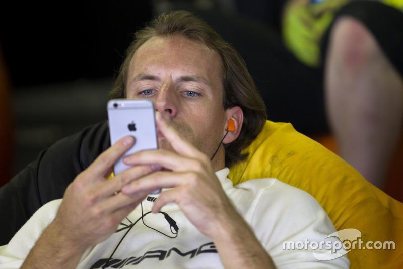 #3 Black Falcon Mercedes AMG GT3: Yelmer Buurman
